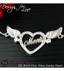 AH00003-天使之心頸鏈