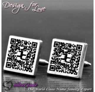 CUF00010-袖口鈕(QR Code版)