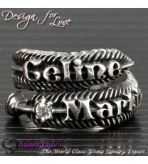 FER00001-羽毛戒指