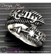 FER00003-羽毛戒指
