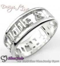 WBB00001-通花名字戒指