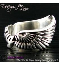 NCRS00005-天使之翼名字戒指(天使全翼)