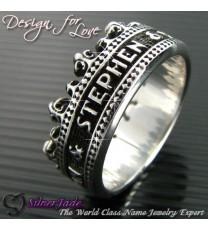 RCW00001-皇冠名字戒指