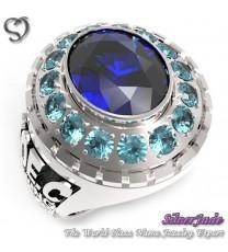 RG00003-D2-畢業戒指/班級戒指(10mm橢圓鑽環繞鑽少女版)