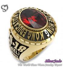 RG00004-D1-畢業戒指/班級戒指(12mm橢圓鑽版)
