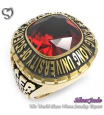 RG00007-D1-畢業戒指/班級戒指(11mm枕型鑽版)
