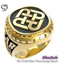 RG00008-D3-畢業戒指/班級戒指(枕面圖案少女版)