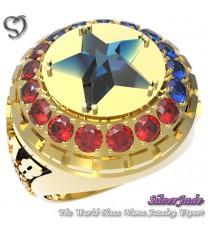 RG00010-D6-畢業戒指/班級戒指(11mm星鑽環繞鑽版)