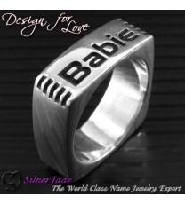 RP00002B-多邊形戒指(方形戒指)