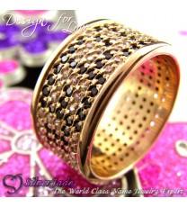 RST00013-鑲石名字戒指