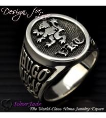 RS00004-學院戒指/馬鞍戒指