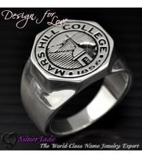 RS00012-學院戒指/馬鞍戒指