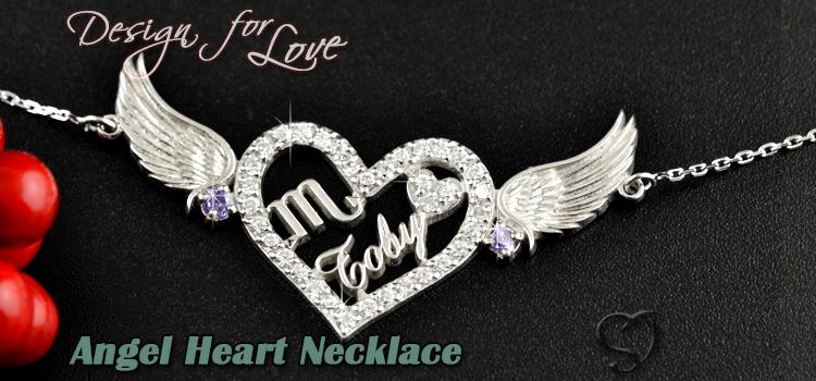 天使之心名字頸鏈